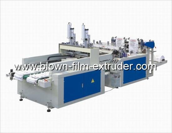 Automatic T-shirt bag making machine