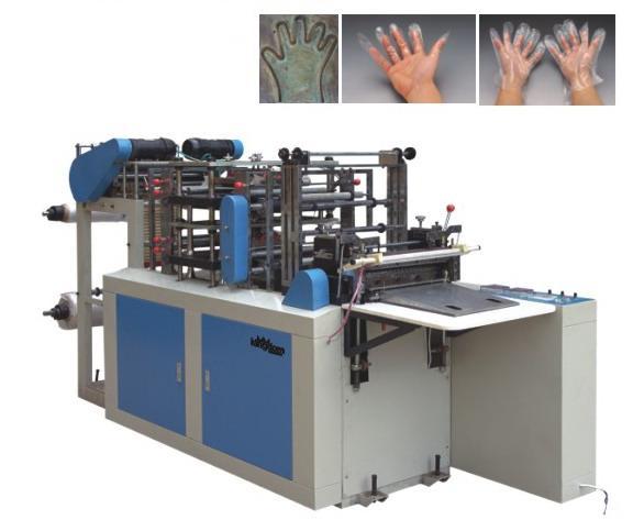 Plastic Glove Making Machine